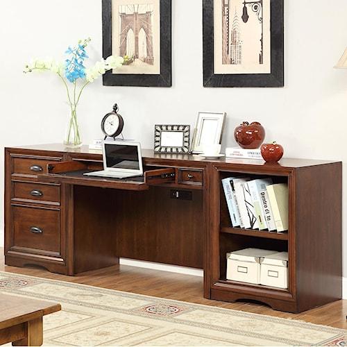 Parker House Napa 3 Piece Desk with File Storage