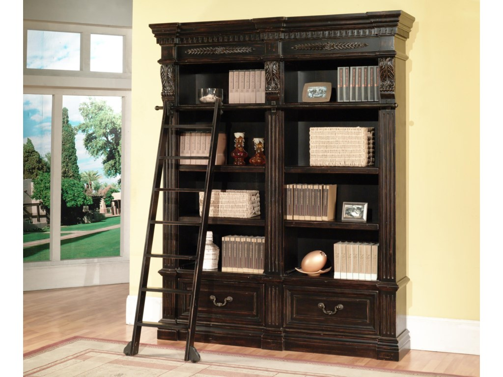 Multiple Bookcases can be Purchased and Bunched Together for a Wall Unit