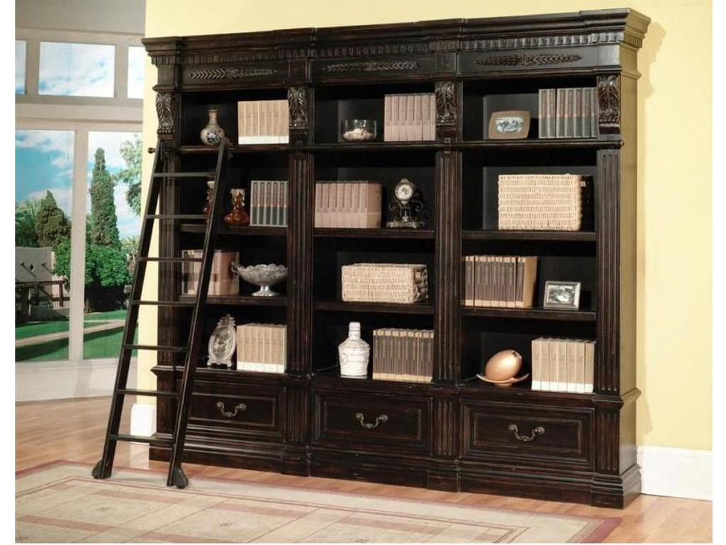 Parker House Palazzo 2-Piece Museum Bookcase