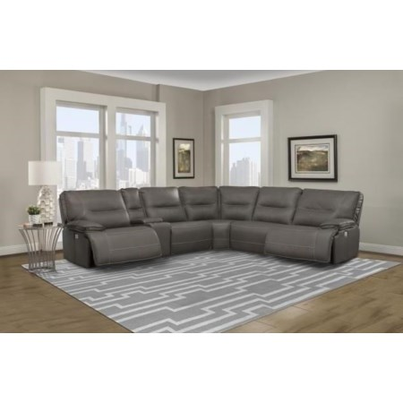Spartan Power Sectional Sofa