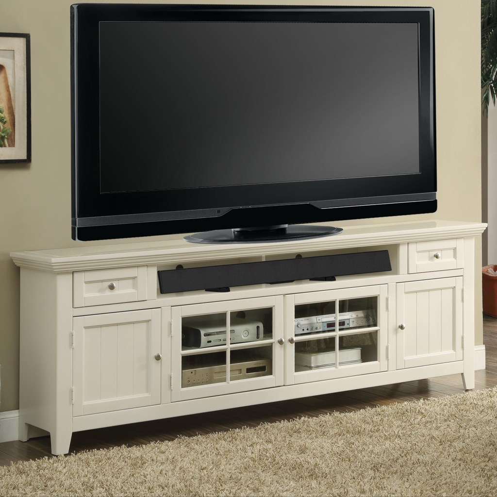 Parker House Tidewater Tid 84 84 Tv Console With Four Doors And