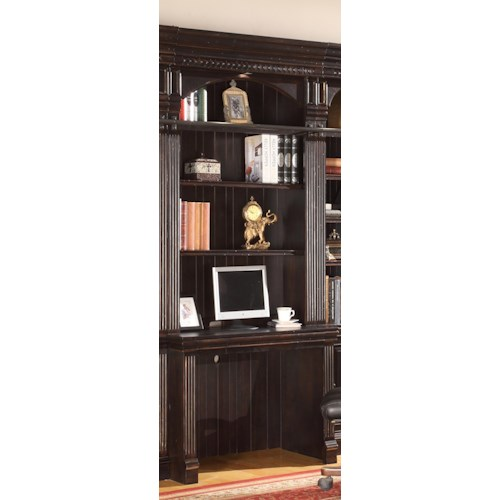 Parker House Venezia 2-Piece Library Desk and Hutch Set