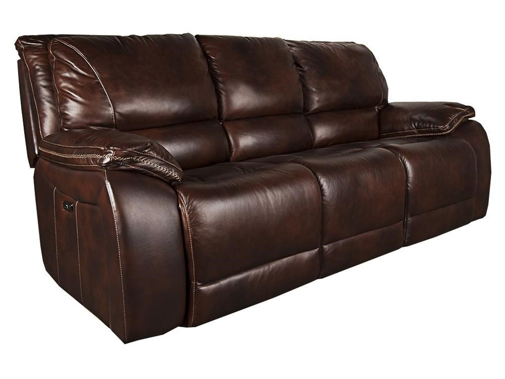 Parker House WarwickWarwick Leather Match Power Sofa