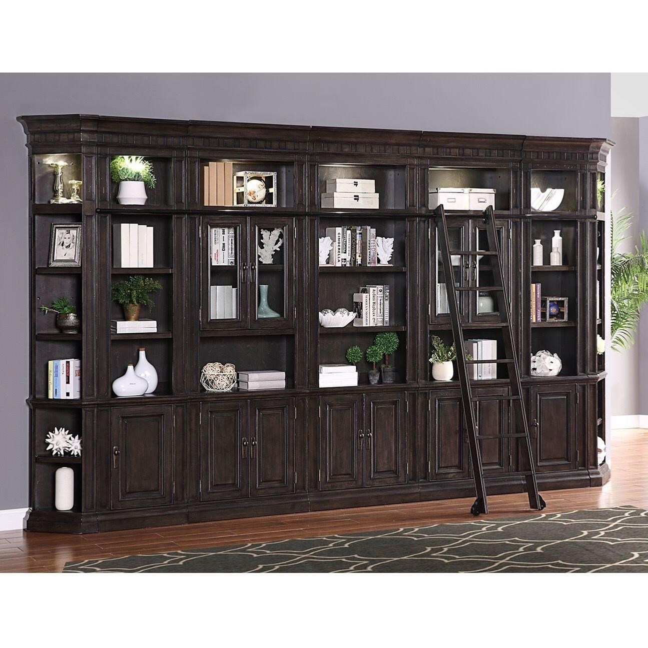 Parker House Washington Heights Bookcase Wall Unit With