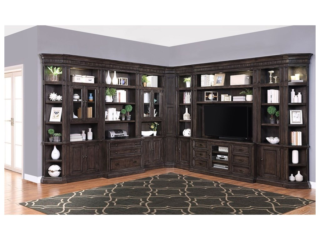 Parker House Washington HeightsLibrary Wall Unit
