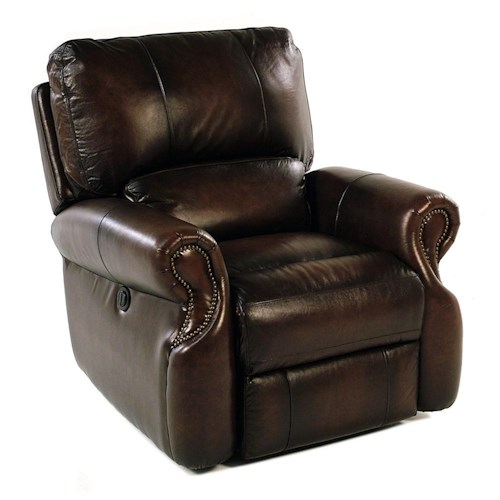 Parker Living Prestige Traditional Power Recliner with Rolled Arms
