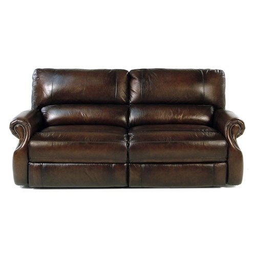 Parker Living Prestige Traditional Dual Power Reclining Sofa with Rolled Arms