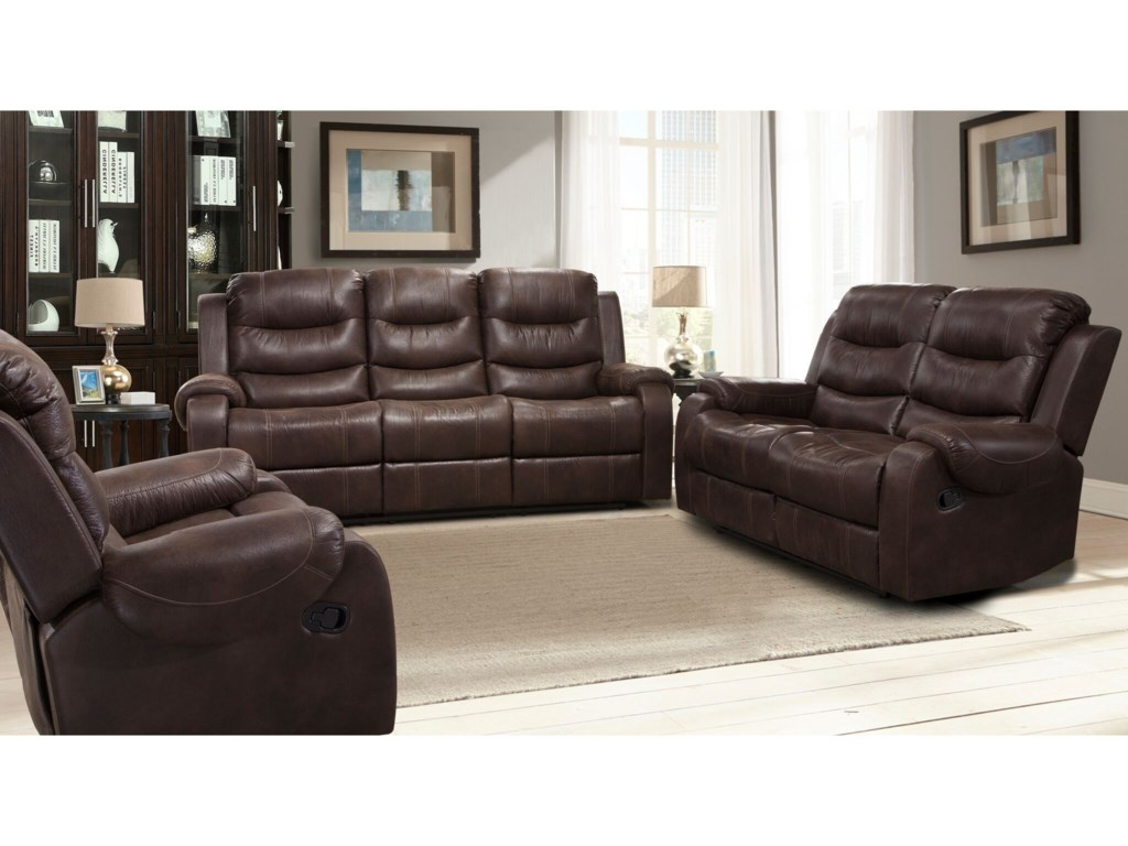 Parker Living BrahmsReclining Living Room Group