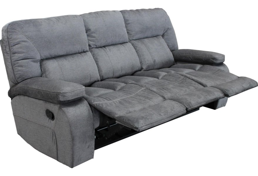 Chapman Casual Triple Reclining Sofa with Pillow Arms by Parker Living at  Coconis Furniture & Mattress 1st
