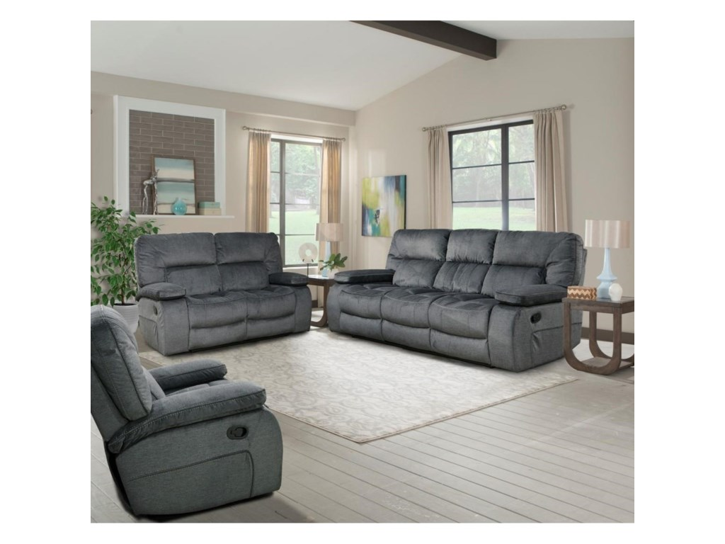 Parker Living ChapmanTriple Reclining Sofa