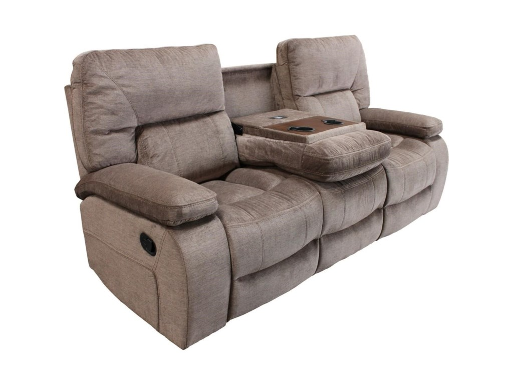 Parker Living ChapmanDual Reclining Sofa with Drop Down Console