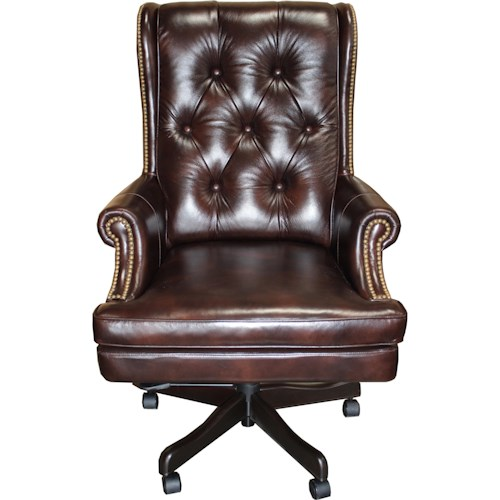 Parker Living Desk Chairs Executive Chair with Tufted Back