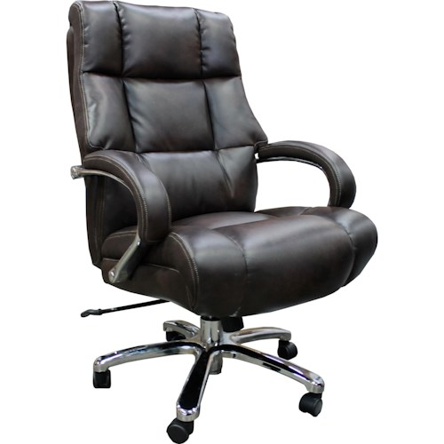 Parker Living Desk Chairs Heavy Duty Chair With Curved Track Arms