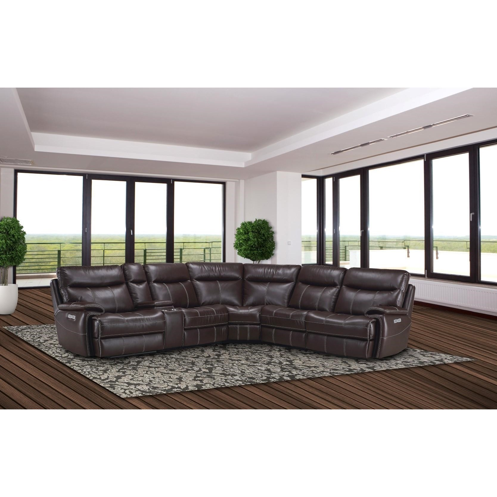 Parker Living DylanReclining Sectional Sofa