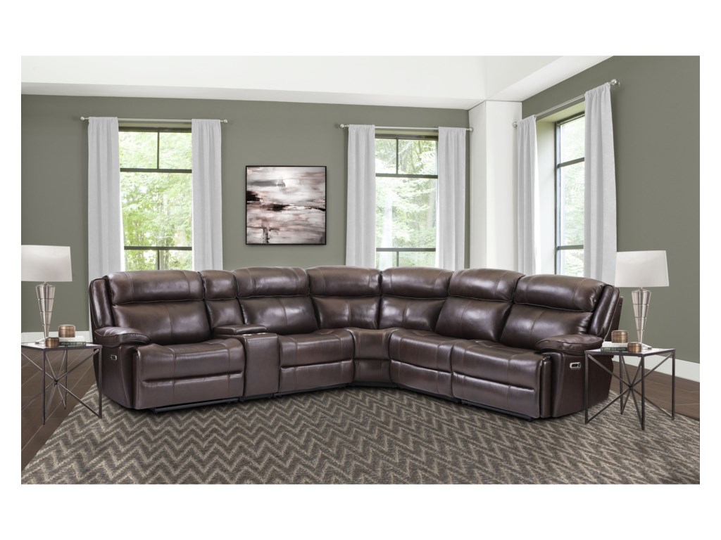 Paramount Living EclipsePower Reclining Sectional