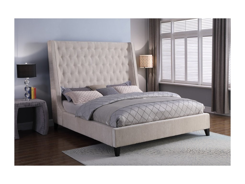 Parker Living ElainaKing Upholstered Bed