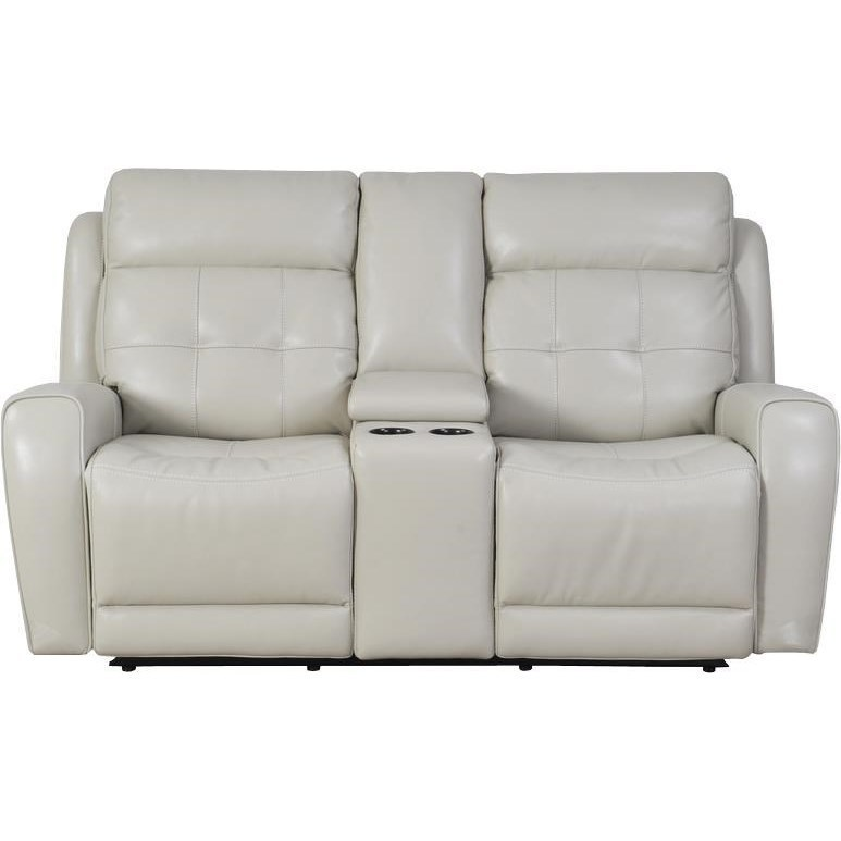 Parker Living Everest Power Dual Reclining Console Loveseat With