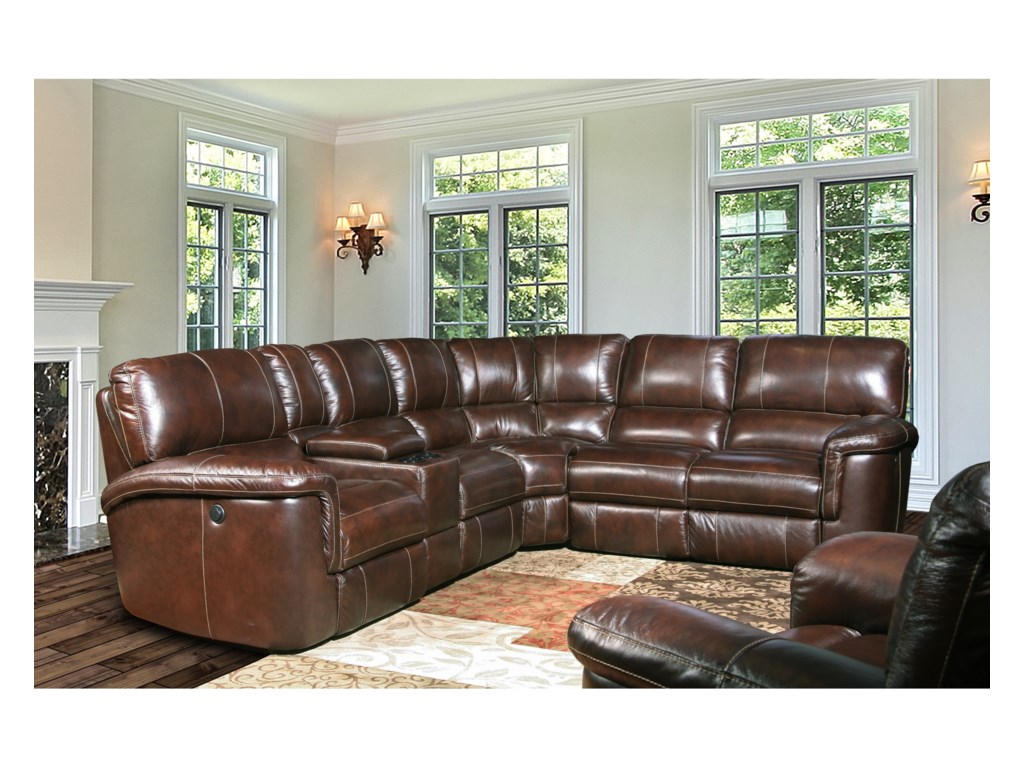 Paramount Living HitchcockPower Reclining Sectional Group