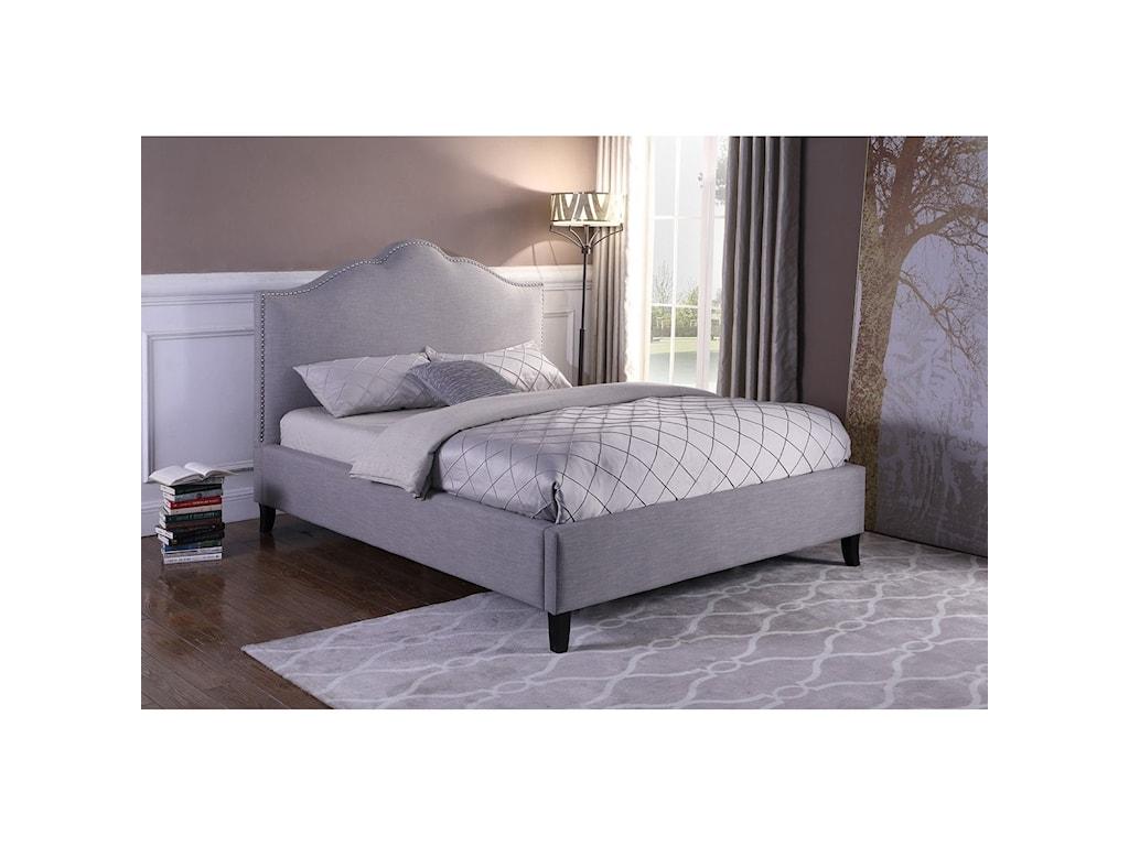 Parker Living JamieQueen Upholstered Bed