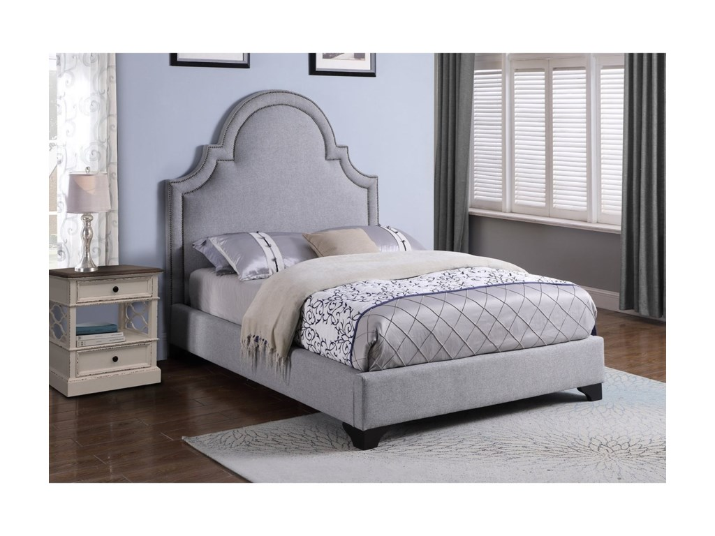 Parker Living MackenzieQueen Upholstered Bed