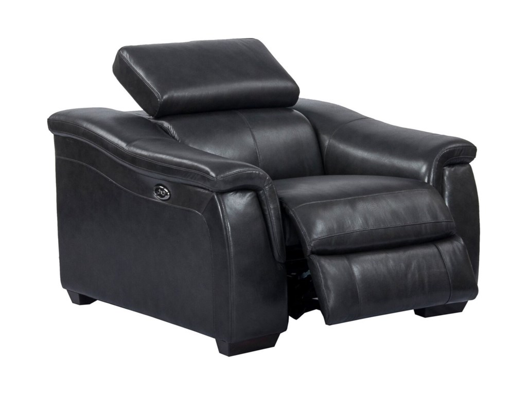 Parker Living NewtonPower Recliner with USB and Ratchet Headrest