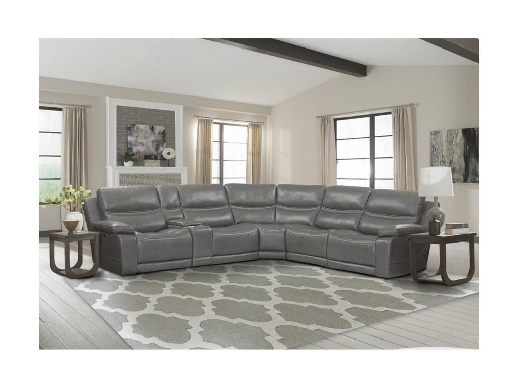 Parker Living PalmerPower Reclining Sectional
