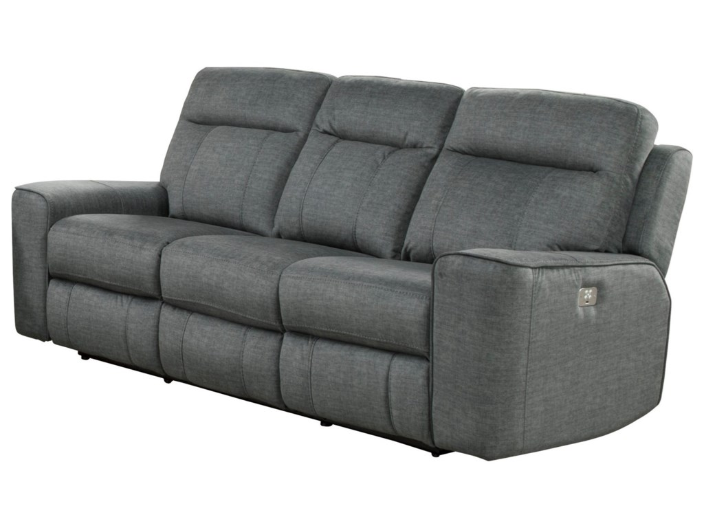 Parker Living ParthenonPower Dual Reclining Sofa w/ Power Headrest