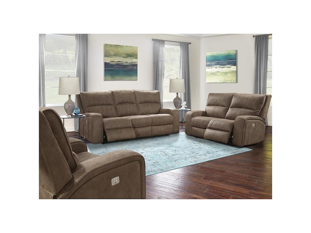Paramount Living PolarisPower Reclining Living Room Group