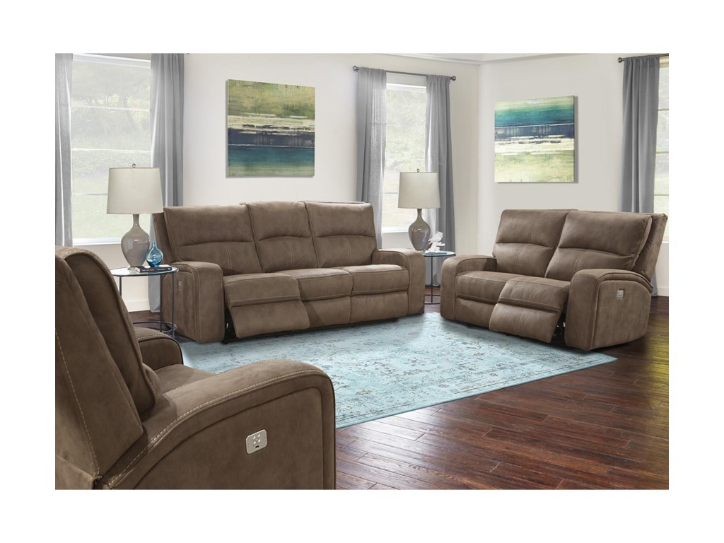 Parker Living PolarisDual Power Reclining Sofa