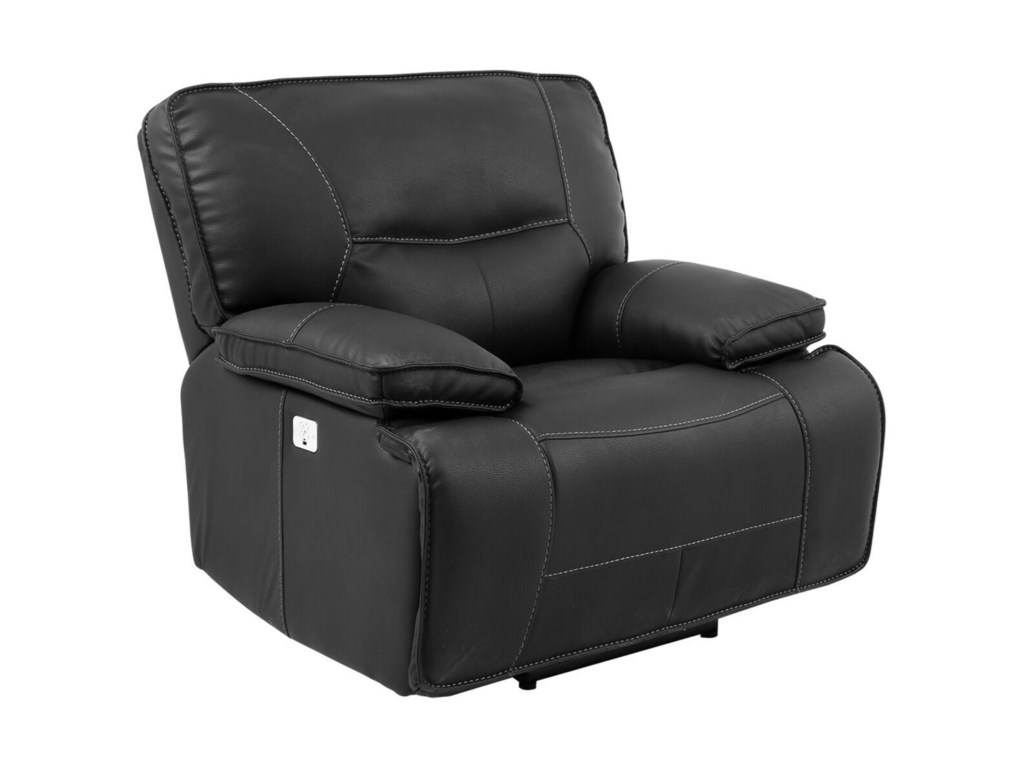 Paramount Living SpartacusPower Recliner with USB and Power Headrest