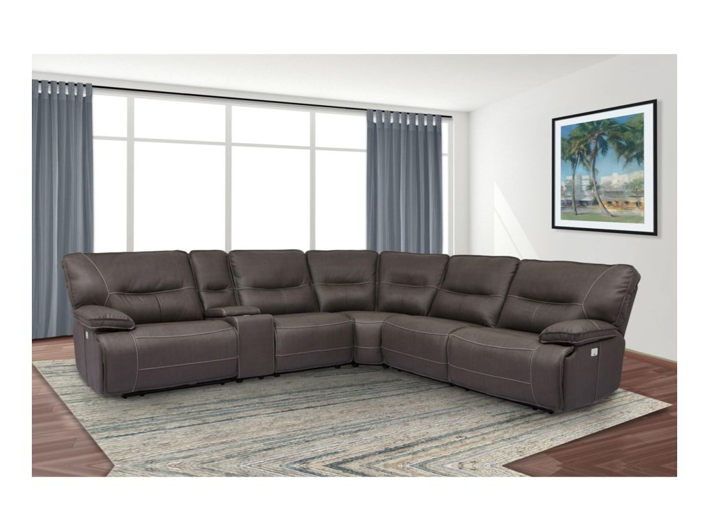 Parker Living SpartacusPower Reclining Sectional