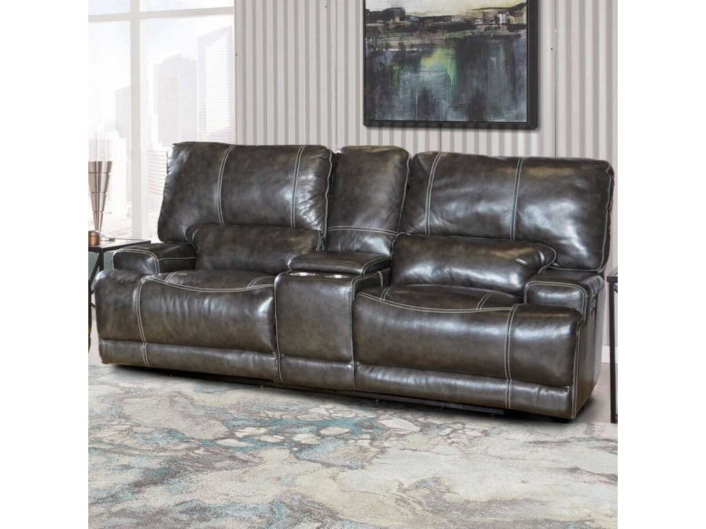 Paramount Living SteeleDual Power Reclining Loveseat
