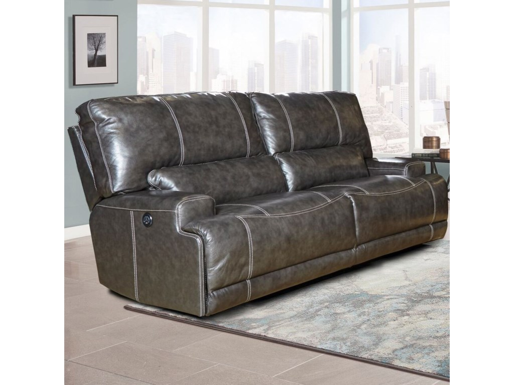 Parker Living SteeleDual Power Reclining Sofa