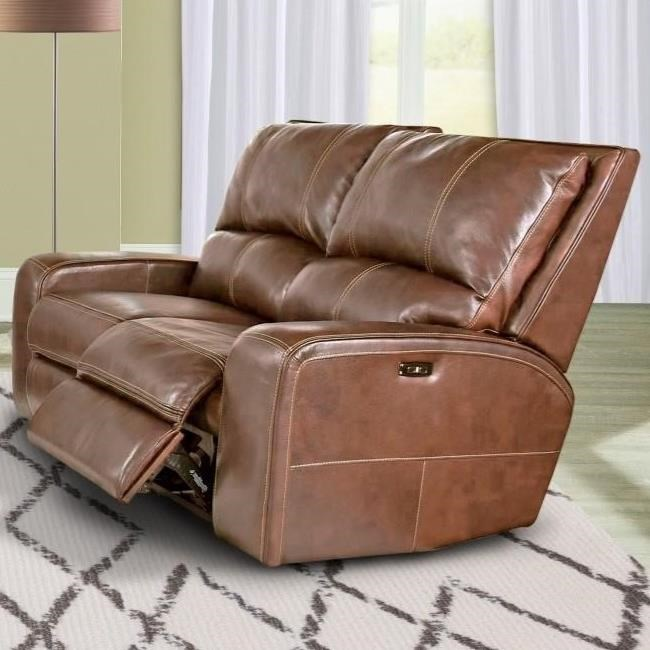 Parker Living Swift Casual Power Reclining Loveseat With Power Headrests    Del Sol Furniture   Reclining Love Seats