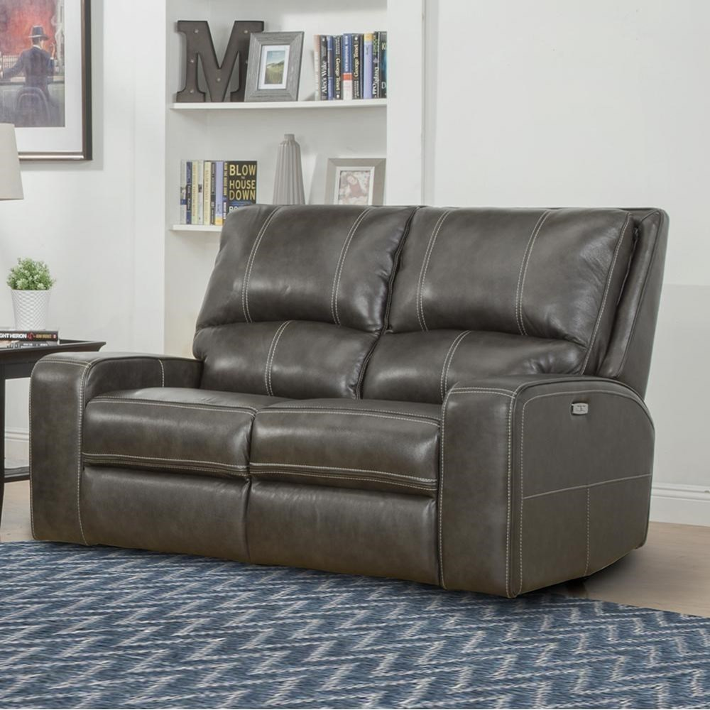 Parker Living Swift Casual Power Reclining Loveseat With Power Headrests