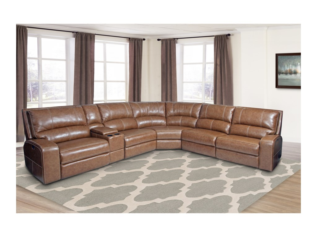 Swift Power Reclining Sectional Sofa