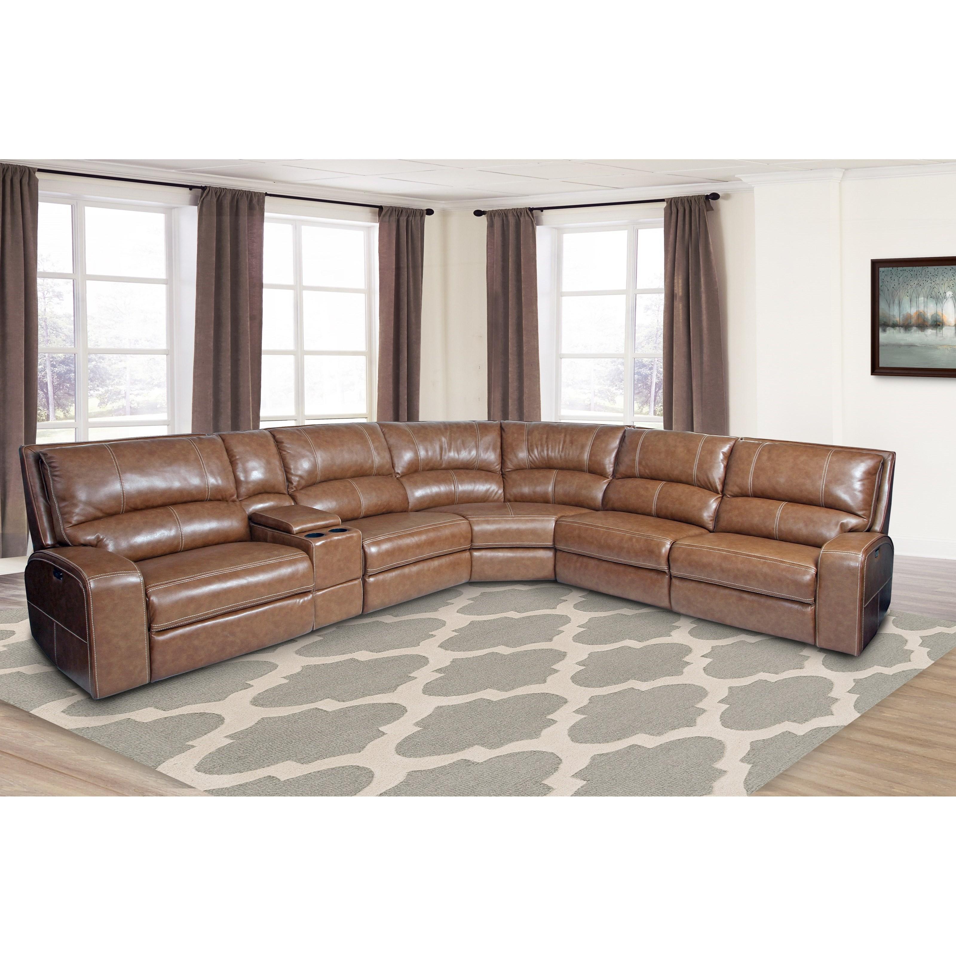 Parker Living SwiftPower Reclining Sectional Sofa