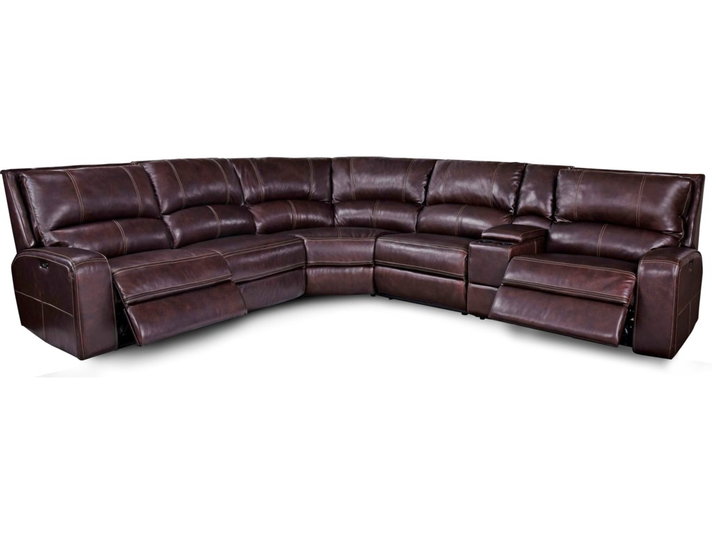 Parker Living SwiftPower Reclining Sectional Sofa