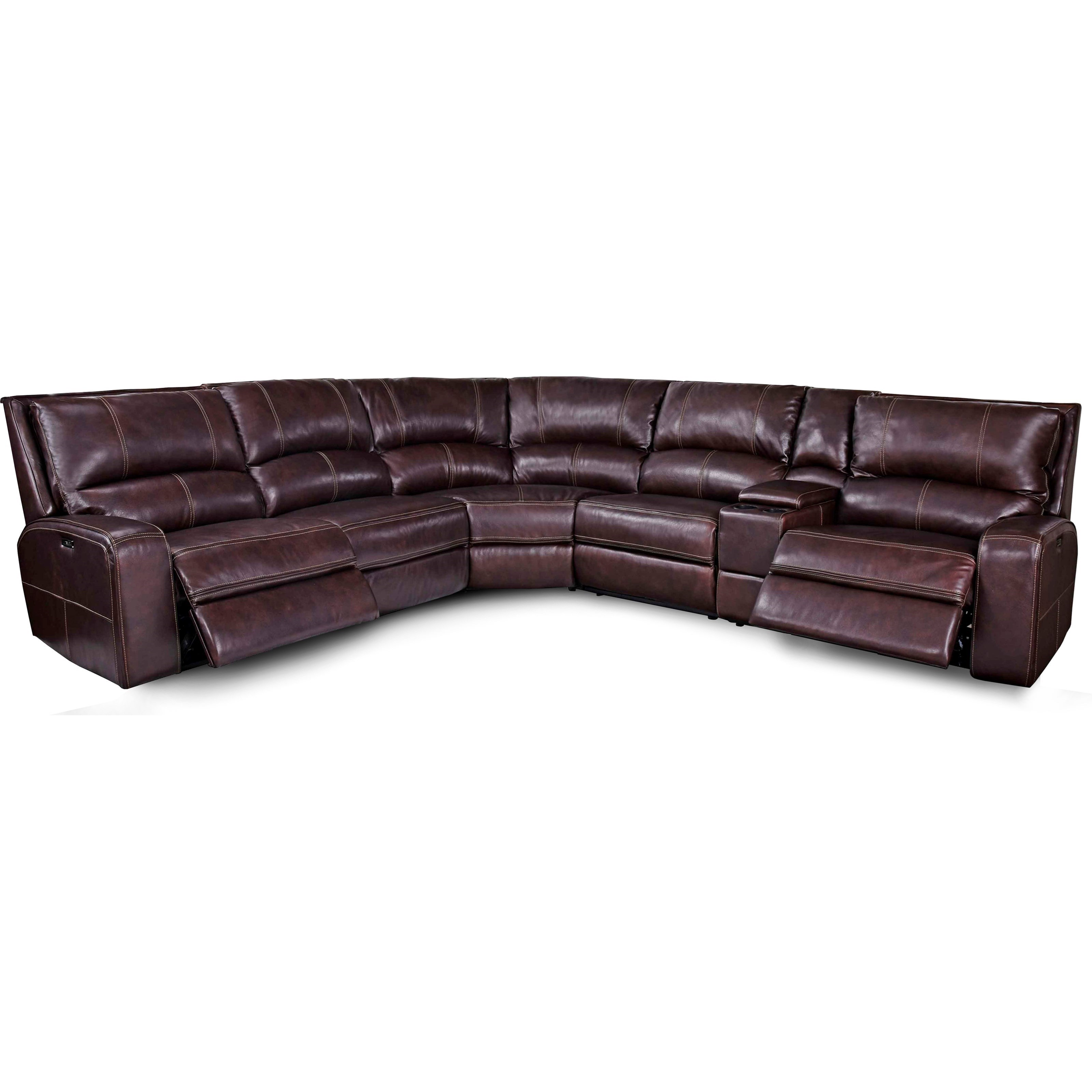 ... Sofas Parker Living Swift Power Reclining Sectional Sofa. Item Shown  May Not Represent Exact Features Indicated