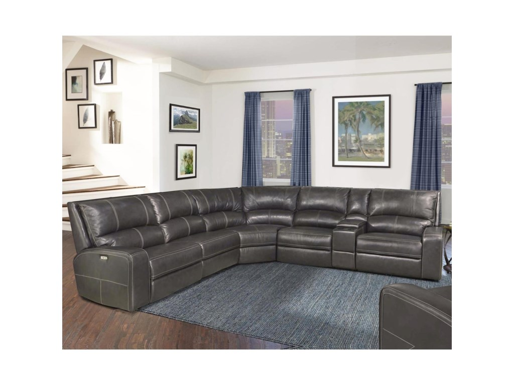 Parker Living Swift Reclining Sectional Sofa