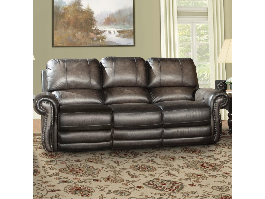 Parker Living Thurston ShadowTraditional Power Reclining Sofa