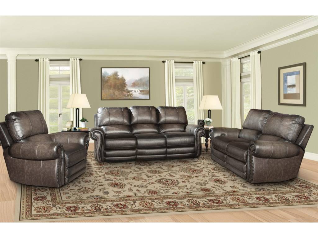 Parker Living Thurston ShadowTraditional Reclining Living Room Group