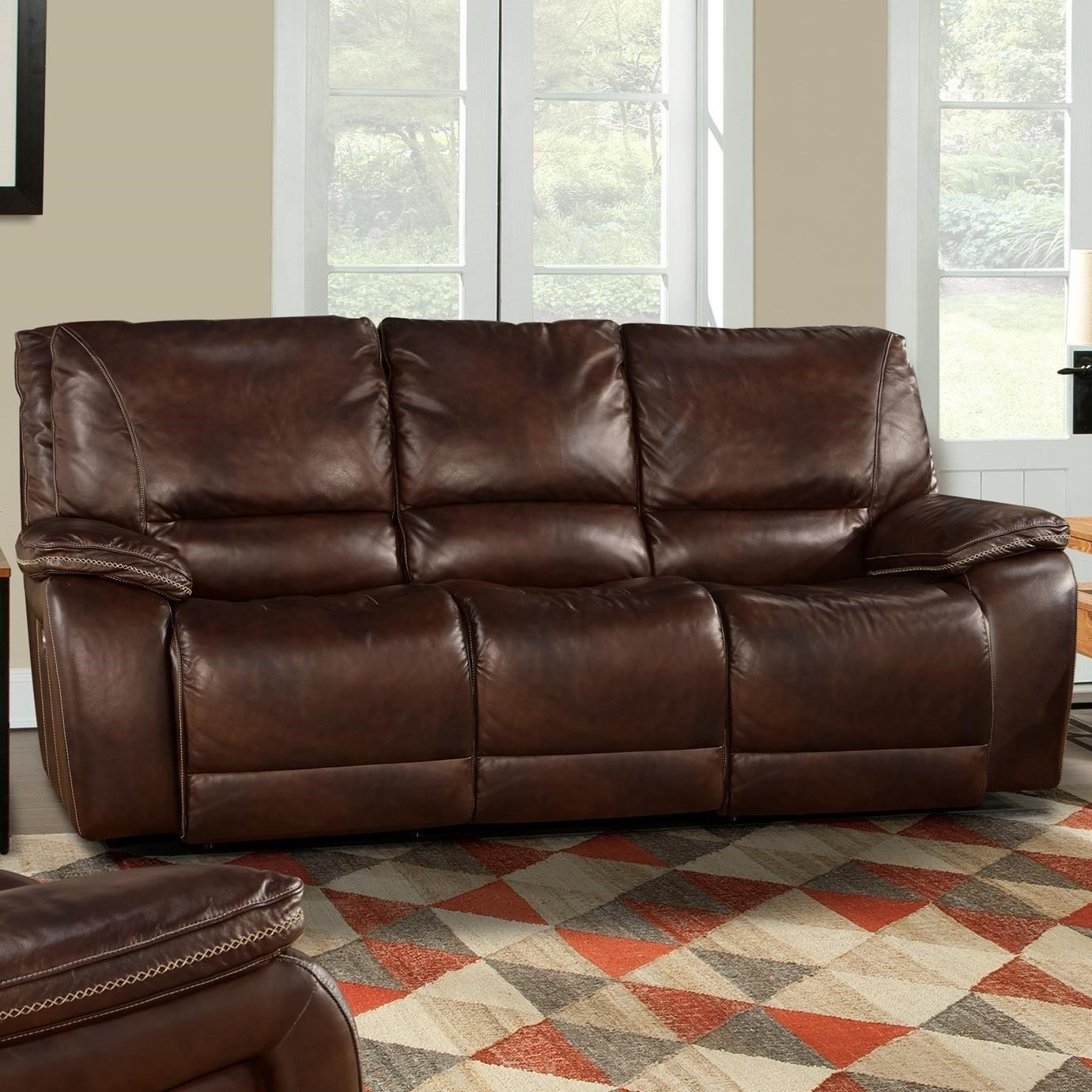 Parker Living Vail Casual Dual Power Reclining Sofa With Power Headrests  And USB Ports