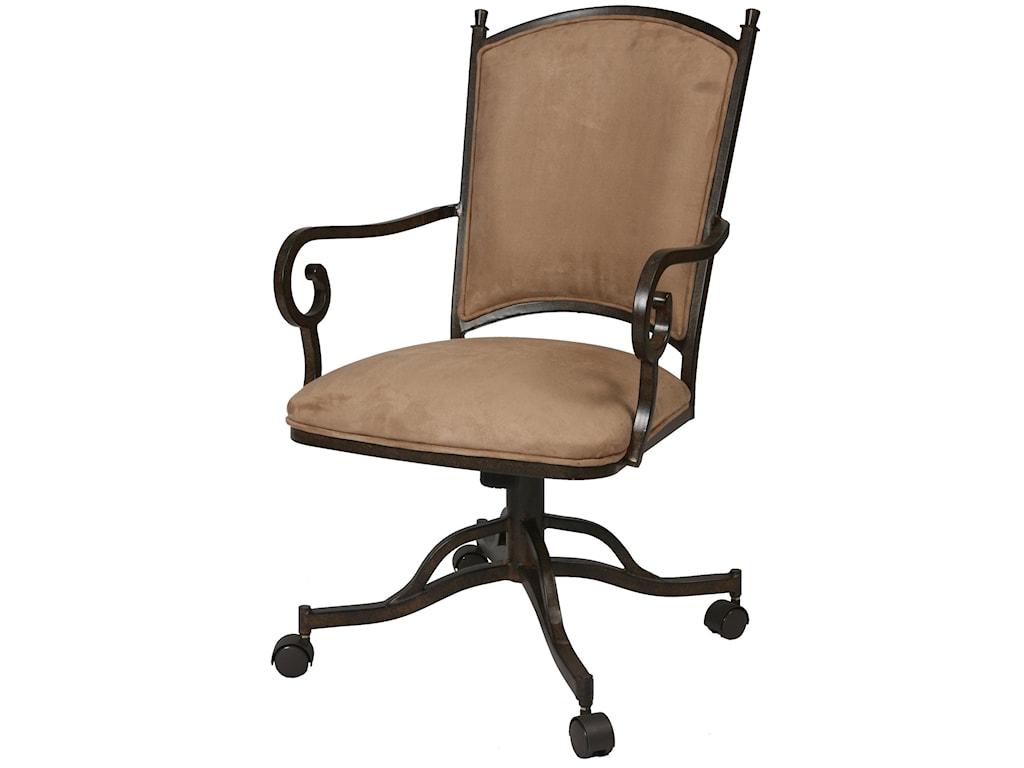 Pastel Minson AtriumCaster Dining Chair