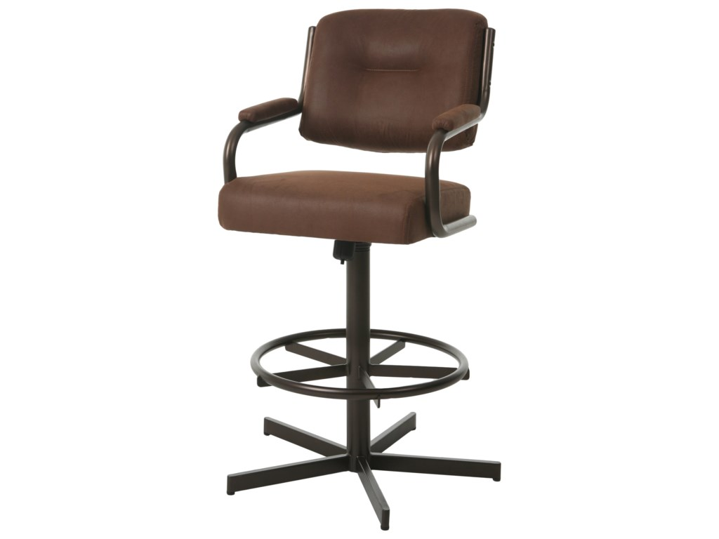Pastel Minson Comfort Plus BarstoolsHavana Swivel Tilt Counter Height Barstool