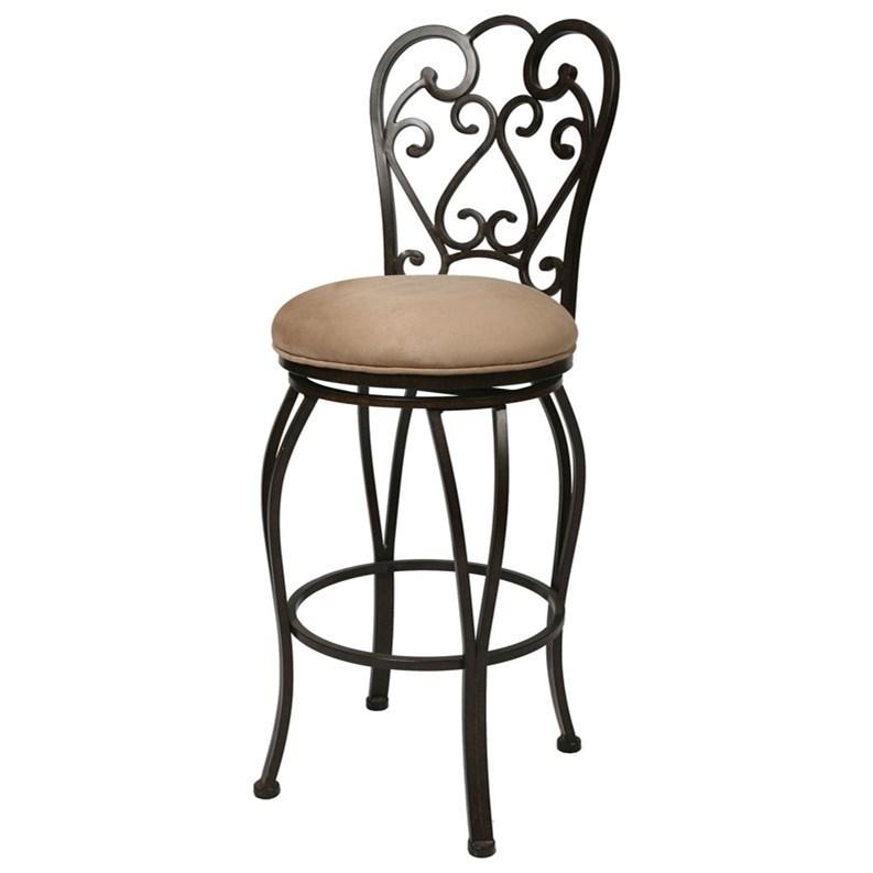 Pastel Minson Iron Barstools Magnolia 30 Swivel Barstool Find Your Furniture Bar Stool