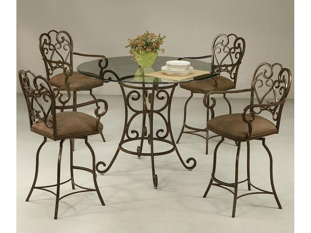 Pastel Minson Magnolia5 Piece Dining Set