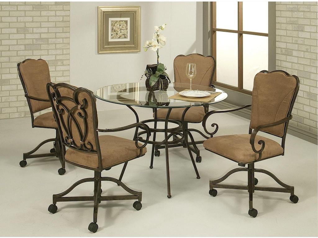 Pastel Minson ViennaCaster Chair