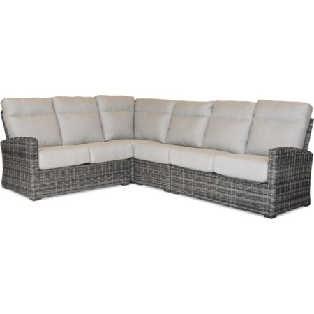 4PC Sectional (RAF, LAF, Wedge, and Armless)