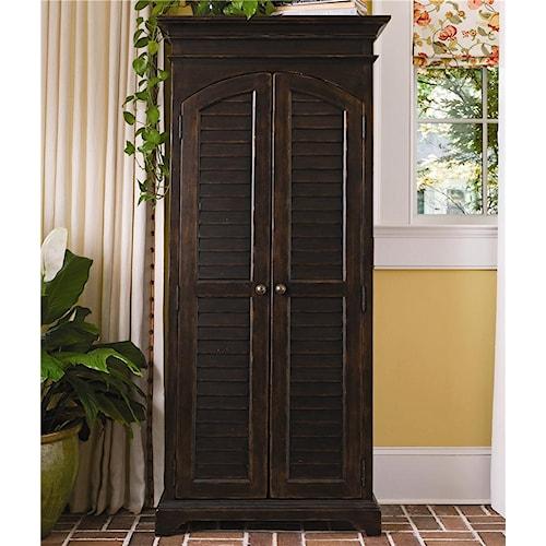 Paula Deen by Universal Paula Deen Home Utility Cabinet with Louvered Doors
